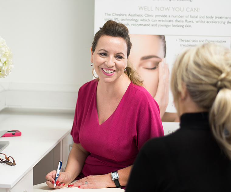 Cheshire Aesthetic Clinic | Inch Loss Skin Care and Hair Removal | Owner